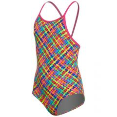 Funkita Toddler Girls Basket Case One Piece Swimsuit