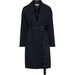 Black Mamos cotton-gabardine trench coat
