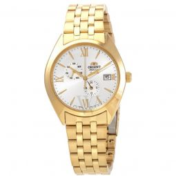 Men's Altair Stainless Steel White Dial Watch