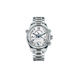Men's Master Retrograde Stainless Steel Silver Dial Watch