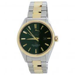 Men's Orient Star Stainless Steel Green Dial Watch