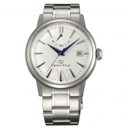 Men's Orient Star Stainless Steel Silver-tone Dial
