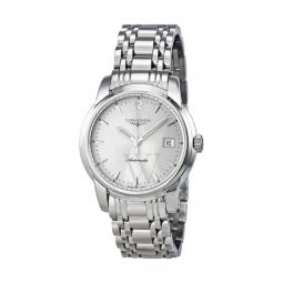 Men's Saint-Imier Collection Stainless Steel Silver Dial Watch