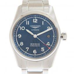 Men's Spirit Stainless Steel Blue Dial Watch