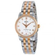Womens Baroncelli II Stainless Steel White Dial