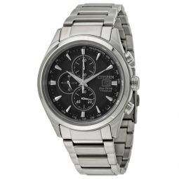 Men's Chandler Chronograph Titanium Black Dial Watch