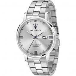 Men's Classe Stainless Steel Silver Dial