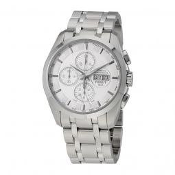 Men's Couturier Chronograph Stainless Steel Silver Dial Watch