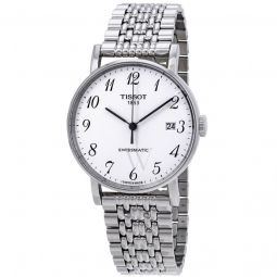 Men's Everytime Swissmatic Stainless Steel White Dial Watch