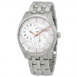Men's Jazzmaster Regulator Stainless Steel Silver Dial Watch