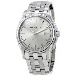 Men's Jazzmaster Stainless Steel Silver Dial