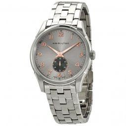 Men's Jazzmaster Thinline Stainless Steel Grey Dial Watch