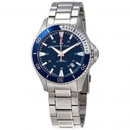 Men's Khaki Navy - Scuba Stainless Steel Blue Dial Watch