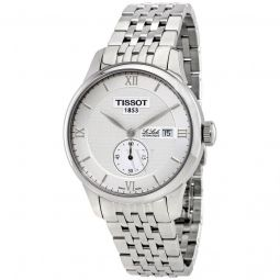 Men's Le Locle Stainless Steel Silver Dial Watch