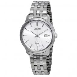 Men's Neo Classic Stainless Steel Silver-tone Dial