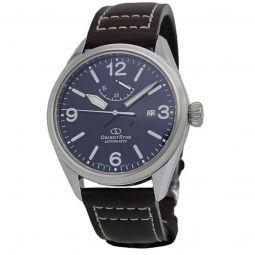 Men's Orient Star Leather Blue Dial
