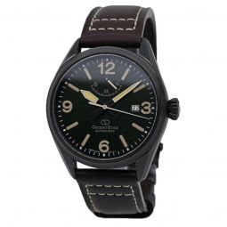 Men's Orient Star Leather Green Dial
