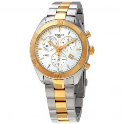 Men's PR 100 Chronograph Stainless Steel Silver Dial Watch