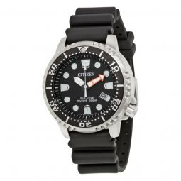 Men's Promaster Diver Black Polyurethane and Dial SS