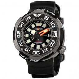 Men's Promaster Professional Diver Rubber Black Dial