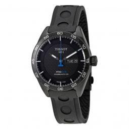 Men's PRS 516 Black Rubber Black Carbon Dial Watch