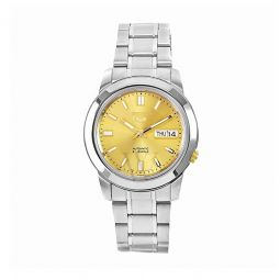 Men's Series 5 Stainless Steel Gold-tone Dial Watch