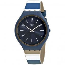Men's Skinkiss Silicone Blue Dial Watch