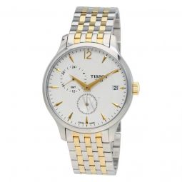 Men's Tradition SS and Gold-Tone SS Silver-Tone Dial Stainless Steel Watch