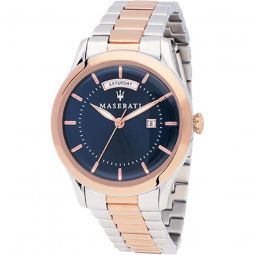 Mens Tradizione Stainless Steel Blue Dial