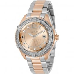 Women's Bolt Stainless Steel Rose Gold-tone Dial