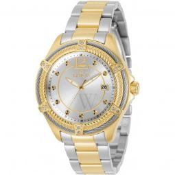 Women's Bolt Stainless Steel Silver-tone Dial
