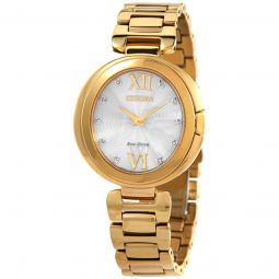 Women's Capella Stainless Steel Silver Dial Watch