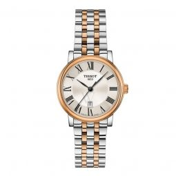 Women's Carson Premium Lady Stainless Steel Silver Dial