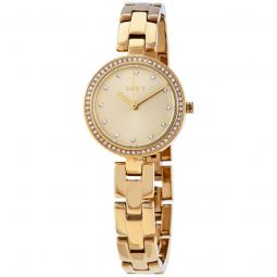 Women's City Link Stainless Steel Gold-tone Dial