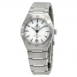 Women's Constellation Co-Axial Master Chronometer Stainless Steel Silver Dial