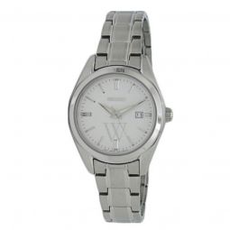 Women's Essentials Stainless Steel Silver Dial