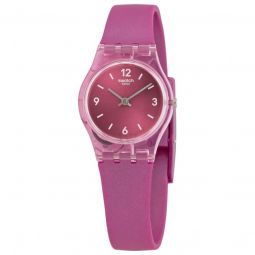 Women's Fairy Cherry Silicone Pink Dial Watch