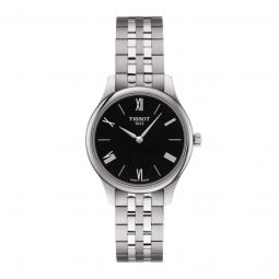 Women's Tradition 5.5 316L Stainless Steel Black Dial Watch