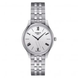 Women's Tradition 5.5 Stainless Steel Silver-tone Dial Watch