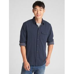 Double-Face Shirt in Standard Fit