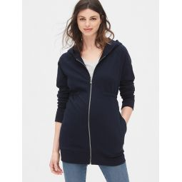 Maternity Cinched-Waist Hoodie