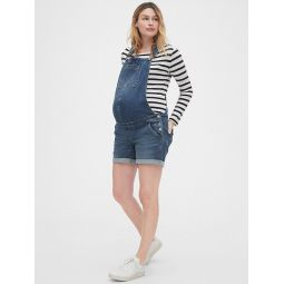 Maternity Denim Shortalls