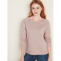 Vintage Crew-Neck Sweatshirt for Women