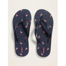 Printed Flip-Flops for Men