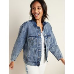 Boyfriend Jean Jacket for Women