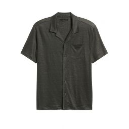 Linen Knit Resort Shirt