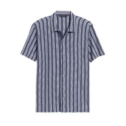 Cotton Knit Resort Shirt