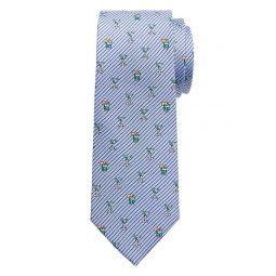 Pinstripe Cocktails Tie