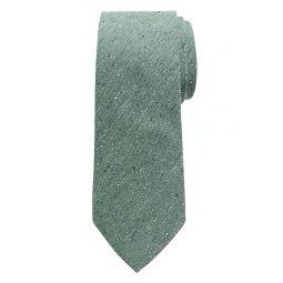 Silk-Blend Speckle Tie