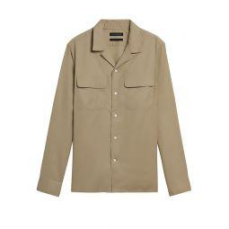 Slim-Fit Organic Cotton Resort Shirt